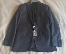 NWT Michael Bastian 36R Peak Lapel Wool Woven Classic Tuxedo Jacket Blazer Slim
