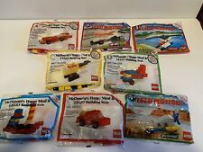 Lego Motion Mcdonalds Vintage Lot Of 8
