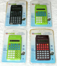 4 New Scientific Calculators 10 Digit LCD Display 56 Function For Math & Science