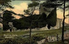 Rhuddlan Wales England ~1910/20 Castle Burg Festung Bauwerk Building ungelaufen