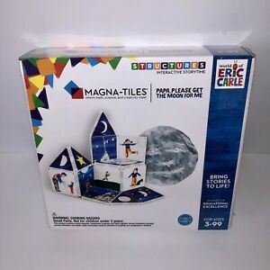 NEW Magna-Tiles Papa Please Get The Moon For Me World of Eric Carle 16 Piece Set