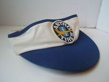 Vintage Astro Tires Patch Snapback Blue White Distressed Visor
