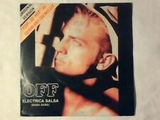 """OFF Electrica salsa 7"""" ITALY SVEN VATH COME NUOVO LIKE NEW!!!"""