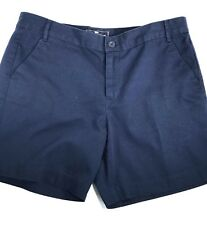 American Living Size 10 Women's Navy Blue Bermuda Walking Shorts