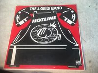 The J. Geils Band Hotline vinyl LP record album 1975 VG