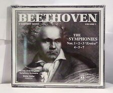 Beethoven: The Symphonies, Vol. 1 (CD, 3 Discs, Musical Heritage Society) New
