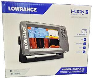 Lowrance Hook2 7 CHIRP GPS Chartplotter Fishfinder & Tripleshot + US Inland Maps