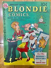Blondie Comics #10 1949 FN 6.0