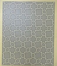Wool Area Rug 5' X 6' - Gray & Natural Contemporary Abstract Geometric