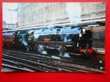 PHOTO  SR WEST COUNTRY  CLASS LOCO NO 34027 TAW VALLEY (1)
