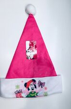 Minnie Mouse Santa Cristmas Hat NWT