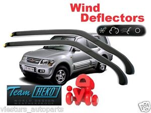 Wind deflectors MITSUBISHI PAJERO WAGON  5D  2000 -   2.pc   HEKO  23324
