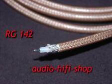 RG 142 Cinchkabel RG142 mit Teflonisolierung - Stereoplay Empfehlung - NEU