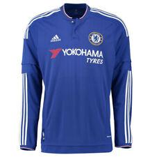 New Chelsea 2015-16 Adidas Blue Long Sleeve Home Football Shirt Boys XL