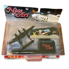 Corgi Nose Art North American P-38 Lightning 'Sweet Sue' WWII Diecast Collection