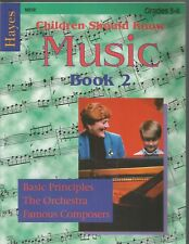 Hayes Children Should Know Music Book 2 Grades 3-4 Isabelle Groetzinger Pb
