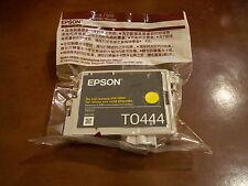 PACK 2 CARTUCHOS EPSON T0444 AMARILLO PRECINTADO ORIGINAL NUEVO CADUCADO