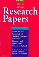 HOW TO WRITE A RESEARCH PAPER 95C
