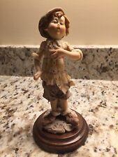 Giuseppe Armani Capodimonte Boy Singing Matte Porcelain Figure (Florence)