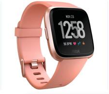 Fitbit - Versa Smartwatch - Peach/Rose Gold