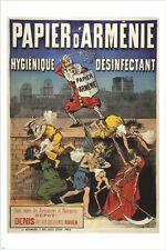 disinfectant PAPIER D'ARMENIE 1890 vintage AD POSTER health hygiene 24X36