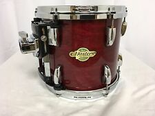 "Pearl Masters MCX 10"" Diameter X 9"" Deep Mounted Tom/Vintage Wine/# 280/NEW"