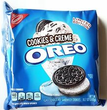 NEW Nabisco Oreo Cookies & Creme Limited Edition Cookies FREE WORLDWIDE SHIPPING