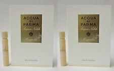 Acqua di Parma Acqua Nobile Magnolia EDT .04 oz 1.2 ml Spray Sample Vial x 2 PCS