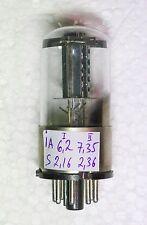 NEW METAL BASE REAL 1578 = 6N8S = 6SN7 = ECC32  HOLE PLATE MELZ tube 60's OTK