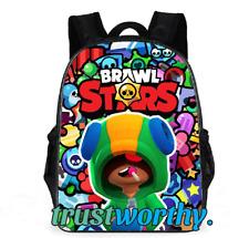 Brawls Stars One Piece 3D Anime Game Figure School Bag High Capacity Nylon Water