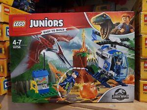 Lego Juniors 10756 Jurassic World Pteranodon Escape New and Sealed .