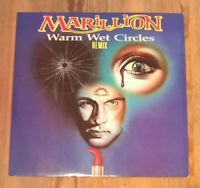 "Marillion – Warm Wet Circles (Remix) Vinyl 12"" Single 45rpm 1987 EMI 12MARIL8"