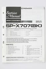 PIONEER SP-X707 BK Surround Amplifier Repair & Adjustments Service-Manual o72