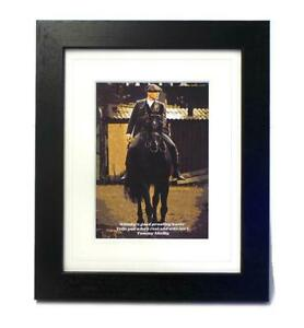 Thomas Tommy Shelby Peaky Blinders Quote Horse Canvas Art Print WALL ART