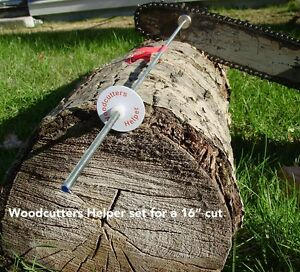 Woodcutters Helper Original Magnetic Firewood Measuring Attachment