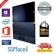 Microsoft Surface 3, 128GB + Genuine Office 2016 Pro Plus - 100% AUTHENTIC