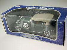 Anson Classic 1932 Cadillac Sport Phaeton - Green 30383 1/18 NIB