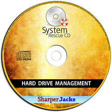 NEW & Fast Ship! System Rescue CD - Repair / Restore Hard Drive Data Loss Disc