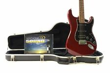 2008 Fender American Deluxe Stratocaster HSS Electric Guitar - Wine Red w/ OHSC