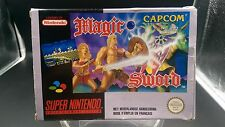 jeu video super nintendo sans notice BE PAL FAH magic sword