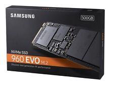 Samsung 960 Evo 500GB NVMe M.2 PCI-Express 3.0 Internal 500G SSD MZ-V6E500BW
