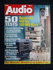 Audio 3/98, TECHNICS m 10000, Marantz Project T 1, Pioneer m7, Luxman C 10,acc DC 91