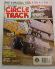 Circle Track Magazine Sprint Car Tech Chassis Set Up September 1987 072215R