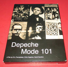 Depeche Mode 101- DVD / 2-Disc Set / Movie Backstage Footage Interviews -CONCERT