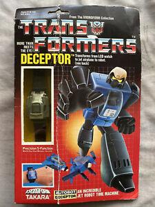 VINTAGE 1984 Takara Transformers G1 DECEPTOR  Kronoform Watch NOS MISB SEALED