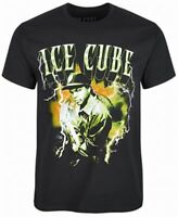 Ice Cube Mens T-Shirt Black Size Small S Graphic Lightening Pullover Tee  #074