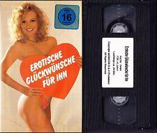 VHS Erotische Glückwünsche für Ihn - Atwork FSK 16 - Videokassette