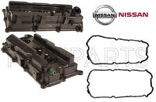 New Genuine Set of 2 Engine Valve Covers & Gaskets For Nissan Frontier V6 4.0L