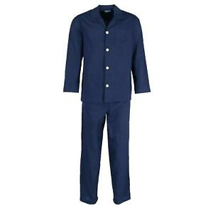 New Fruit of the Loom Men's Big and Tall Long Sleeve Pajama Set