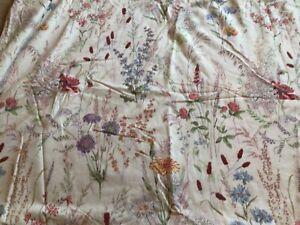 Vintage? V&A Wild Flower Meadow Kingsize Duvet Cover. 100% Cotton